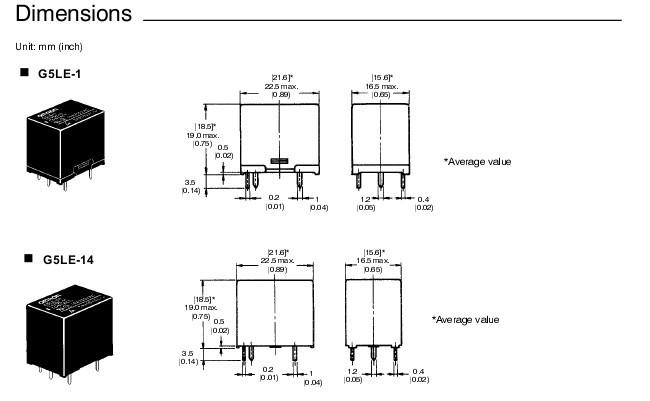 g5le-14 dc5vg5le-14 dc5v欧姆龙功率继电器