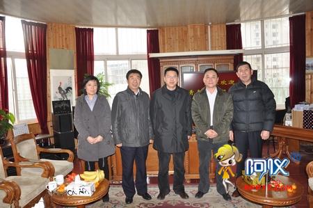 青岛环境监测站及环保产业协会相关领导莅临崂应参观指导
