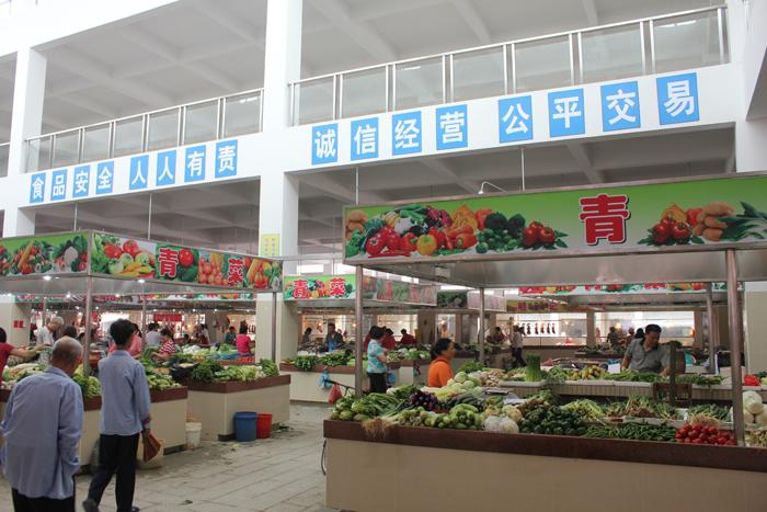 岳阳郭镇集贸市场有了快检室 农药残留可免费检测