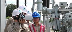 新型SF6气体红外成像检漏仪助力供电公司对电力设备进行检测