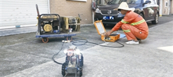 "CCTV管道检测机器人""上阵""助力工作人员对雨污管道进行检测"