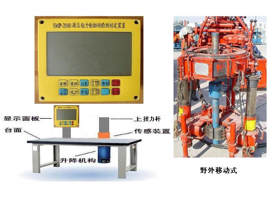 液压钳扭矩检测标定装置扭矩仪图片