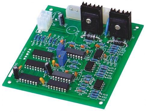 通过直流电压给滑差板供电