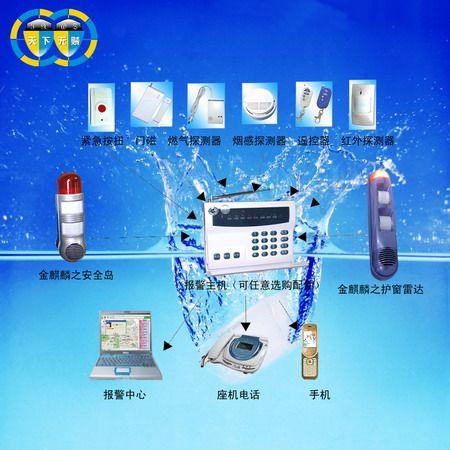 (产品型号:; 金麒麟护窗雷达---安全岛展示
