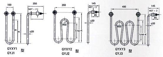 所在地 : 江苏 已获点击: 1584 简单介绍: gyxy型硝盐溶液加热电热管
