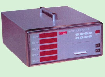 用于测量汽车排放废气中的hc,co,co2,o2及nox气体浓度,自动计算显示空