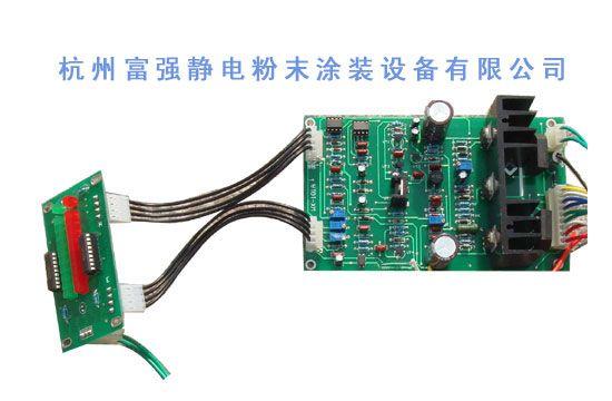 喷粉反吹电路板安装图