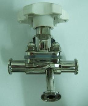 三通隔膜阀图片
