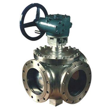 三通球阀一般采用两个阀座结构,亦可根据用户要求采用四阀座结构.