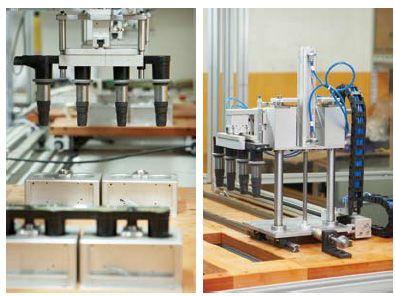 汽车点火线圈测试系统:本工作台采用四工位并行结构