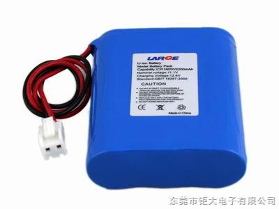 18650健身仪器锂电池3s1p/2200mah
