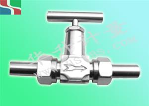 焊管式针型阀